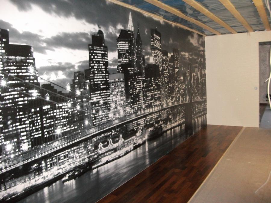 New York aiheinen valokuvatapeetti